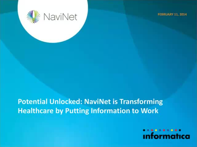Potential Unlocked: NaviNet Transforms Healthcare by Putting Information to Work