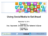 Using Social Media to Get Ahead