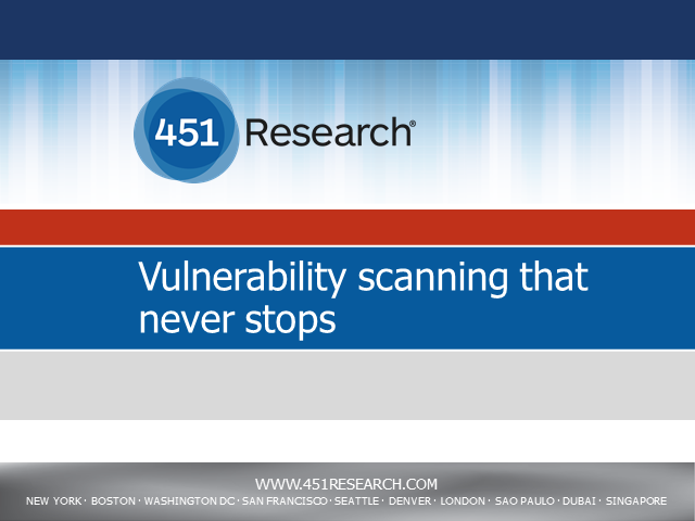 Vulnerability Scanning That Never Stops