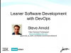 Leaner software development using DevOps