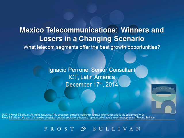 Mexico Telecommunications: Winners and Losers in a Changing Scenario