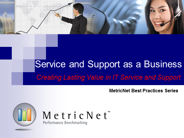 Service and Support as a Business: KPIs that Tell the Big Picture