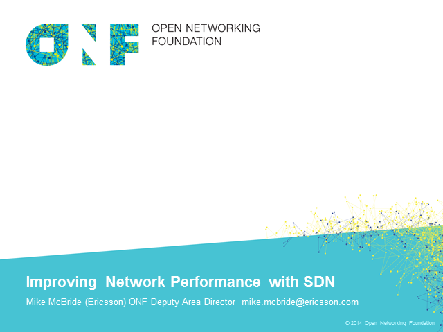 Improving Network Performance with SDN