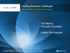 Tackling Business Challenges with Master Data Management