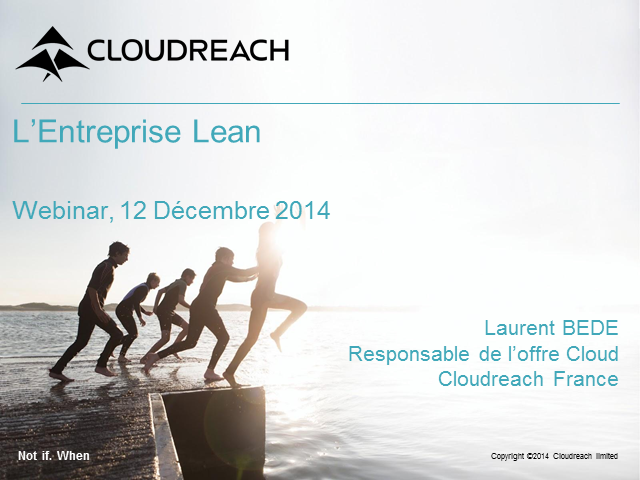 Le cloud computing au service de l'Entreprise Lean