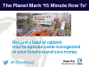 The Planet Mark '15 Minute How To' with Bywaters