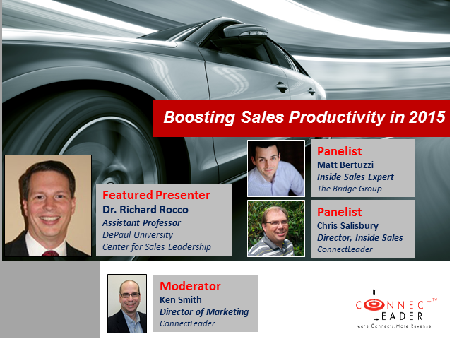 Sales Productivity Trends for 2015