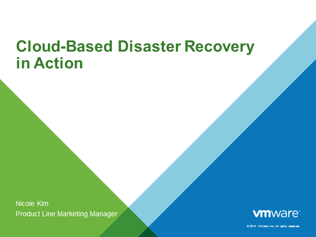 Cloud-Based Disaster Recovery in Action
