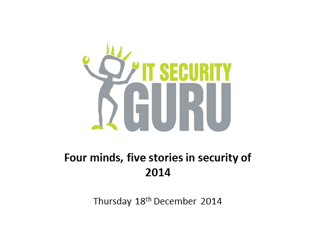 Four minds, five stories in security of 2014