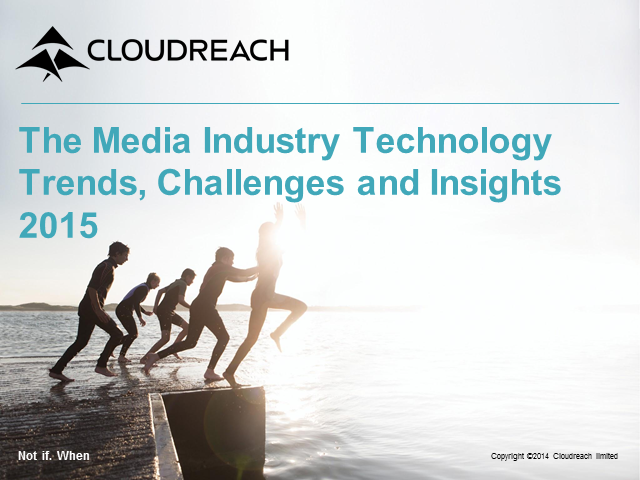 The Media Industry Technology Trends, Challenges and Insights 2015