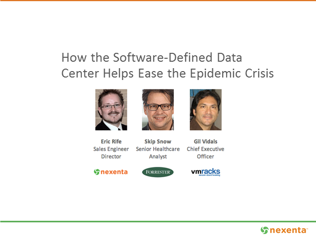 How the Software-Defined Data Center Helps Ease the Epidemic Crisis