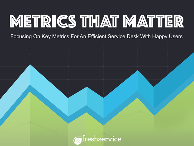Metrics that Matter: Focusing on key metrics for an efficient service desk