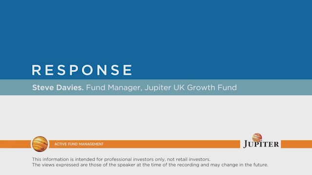 Response - Jupiter UK Growth Fund