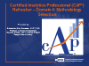 CAP® Webinar Training Series Part IV