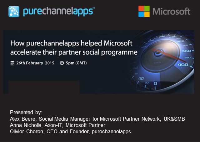 Partners in Crime – How Microsoft Used Their Sales Partners to Engage Customers