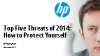 Top 5 Security Threats of 2014: How to Protect Yourself for the New Year!