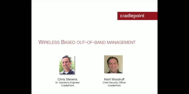 Wireless Based Out-of-Band Management