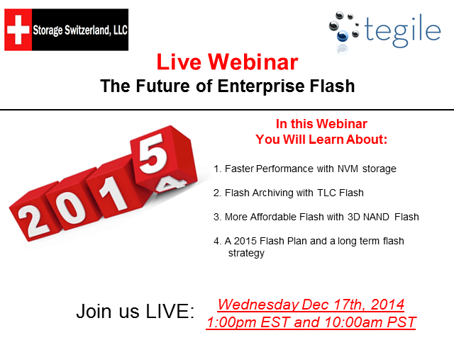 The Future of Enterprise Flash in 2015