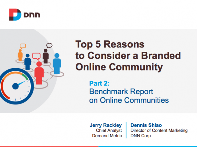 Top 5 Reasons to Consider a Branded Online Community