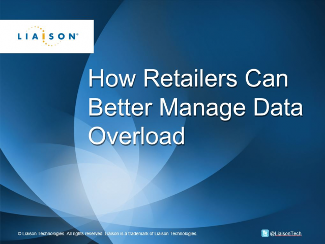 How Retailers Can Better Manage Data Overload