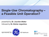 Single-Use Chromatography – a Feasible Unit Operation?