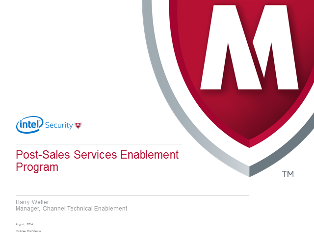 Coffee Break Webinar: Introduction to Post-Sales Services Enablement