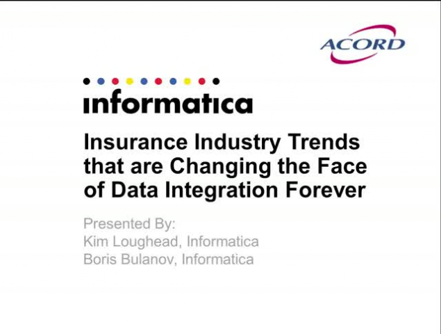 Insurance Industry Trends that are Changing the Face of Data Integration Forever