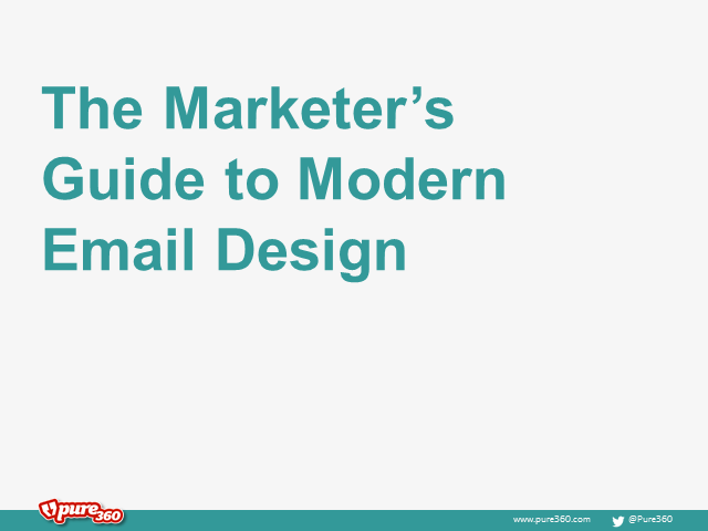 The marketer's guide to modern email design