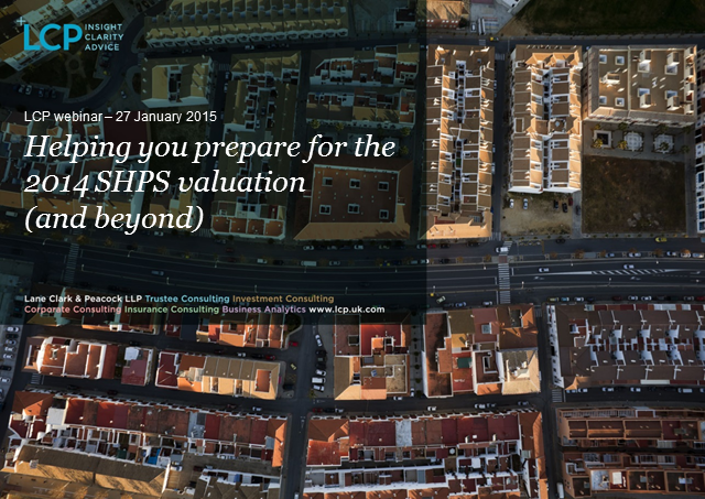 Helping you prepare for the 2014 SHPS valuation (and beyond)