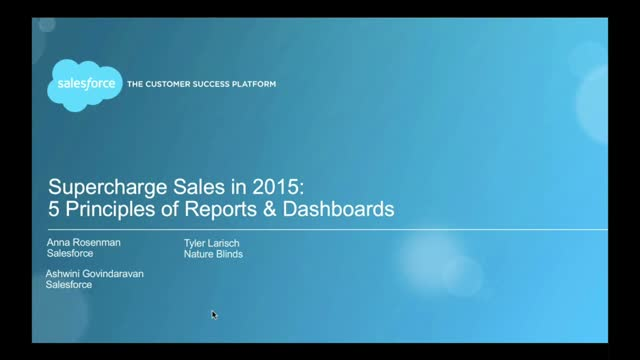 The Five Principles of Killer Reports and Dashboards