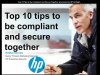 Top 10 tips to be compliant and secure together