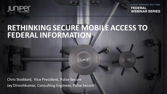 Rethinking Secure Mobile Access to Federal Information