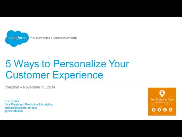 5 Ways to Personalize Your Customer Experience