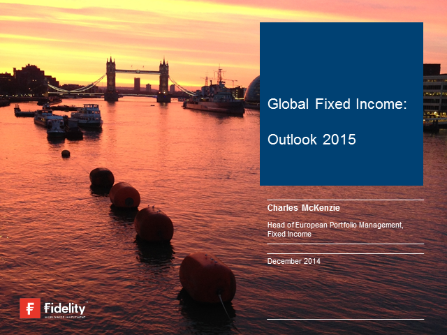 Fixed Income Outlook 2015