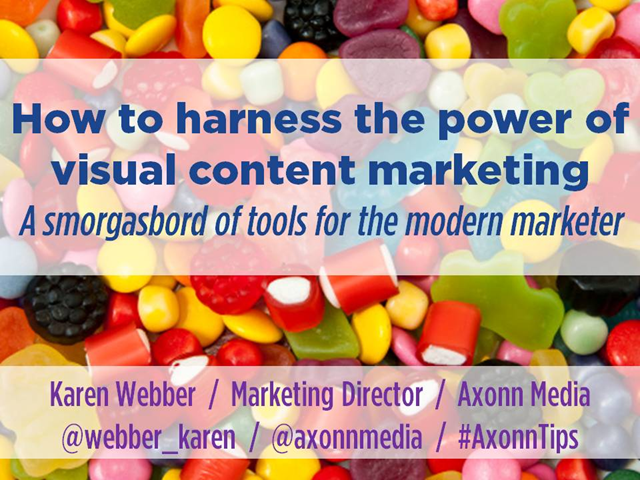 How to harness the power of visual content marketing