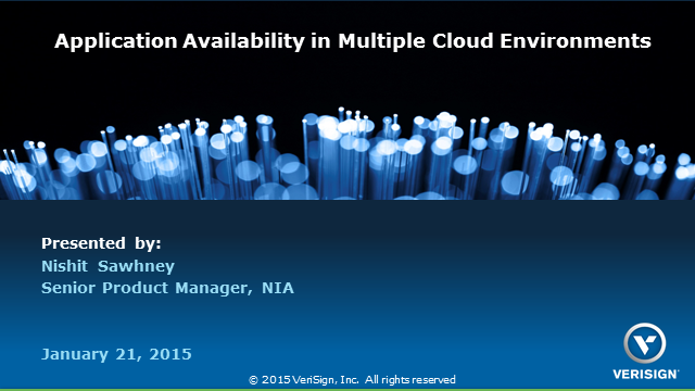 Application Availability in Multiple Cloud Environments