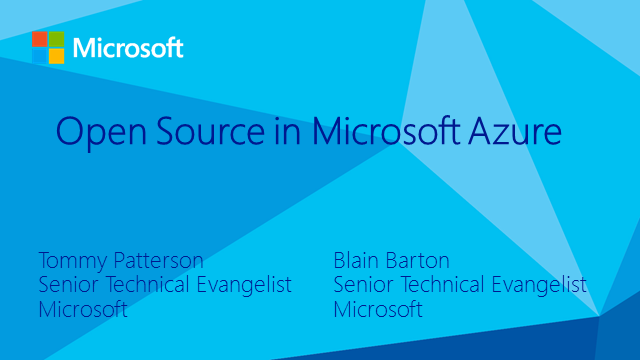 Open Source and Microsoft Azure: An IT Pro's Perspective