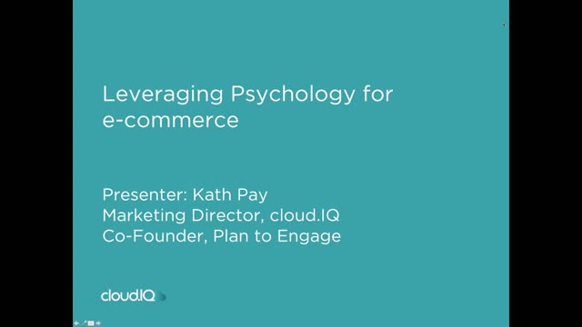 Leveraging Psychology for e-commerce