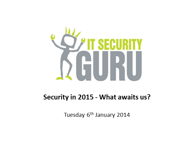 Security in 2015 - What awaits us?
