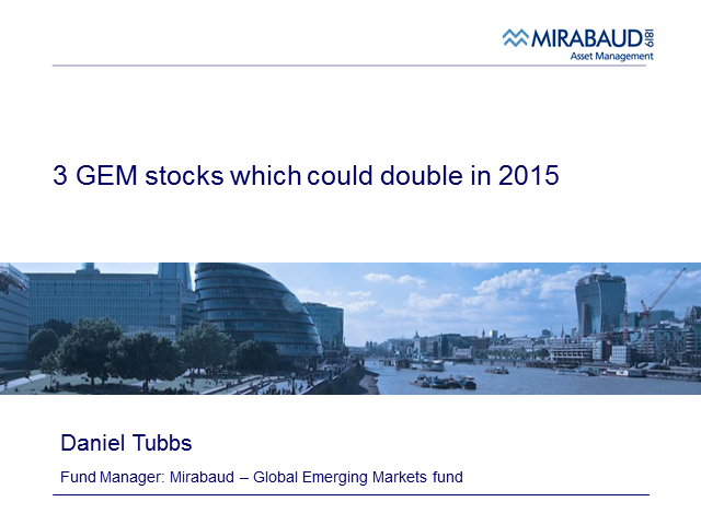 3 GEM stocks which could double in 2015