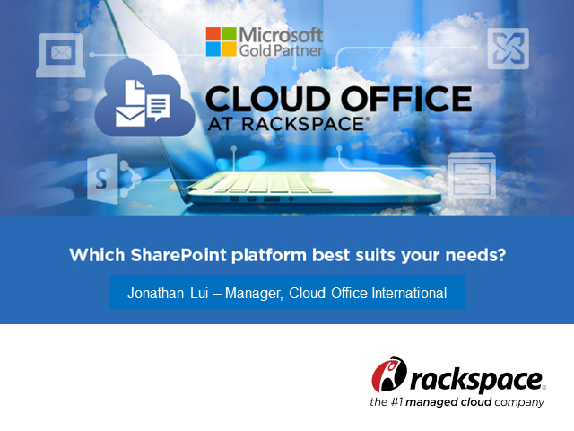 Which SharePoint platform best suits your needs?