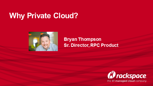 Why Private Cloud?