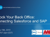 Unlock Your Back Office: Connecting Salesforce and SAP