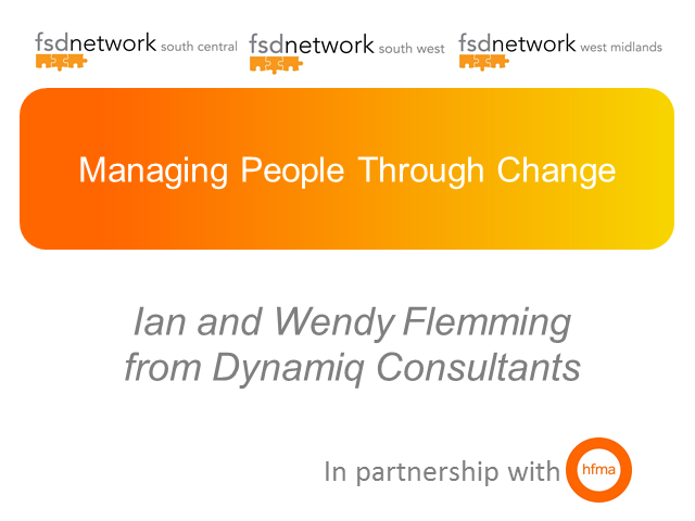 WM, SC & SW FSD, How to Implement Change Management