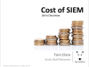 The Cost of SIEM in 3 Minutes