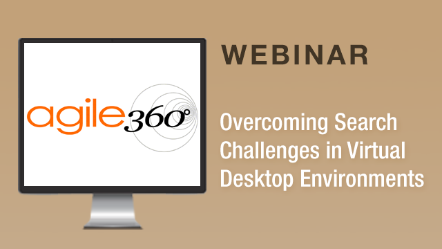 Overcoming Search Challenges in Virtual Desktop Environments