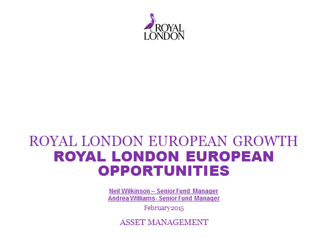 Royal London European Opportunities Fund Webinar