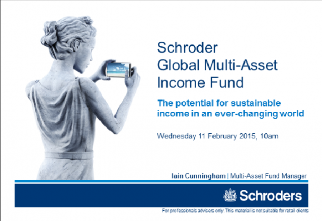 Schroder Global Multi-Asset Income Fund