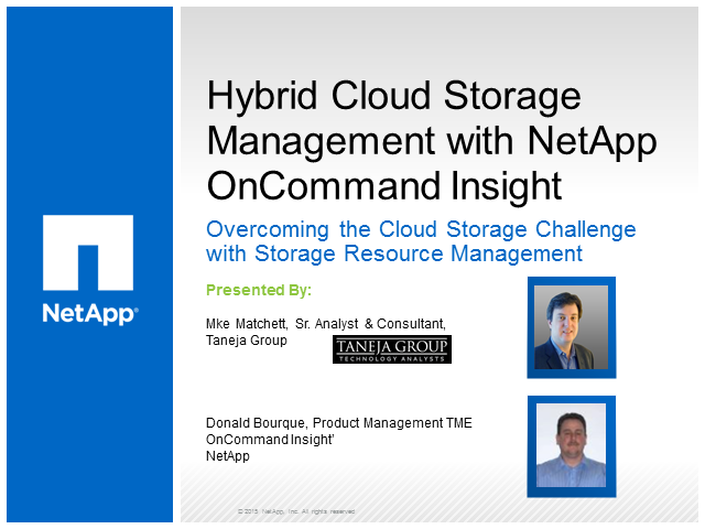 Hybrid Cloud Storage Management: Overcoming the Cloud Storage Challenge (EMEA)
