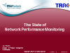 The State of Network Performance Monitoring: Research Findings